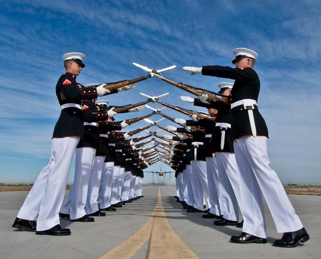 usmc leadership traits and principles